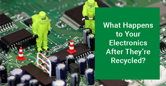 What Happens to Your Electronics After They're Recycled?