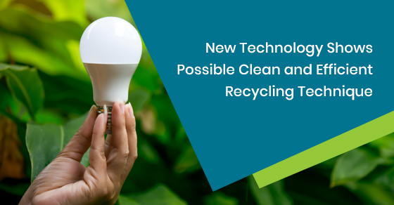 New Technology for Efficient Recycling