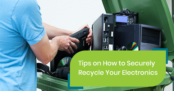 How to securely recycle your electronics