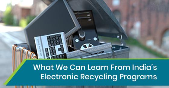 Electronic Recycling Programs