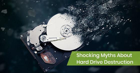 Shocking Myths About Hard Drive Destruction