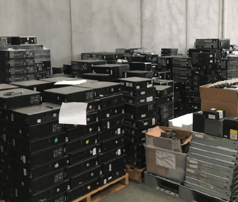 Warehousing And Redeployment - eCycle Solutions
