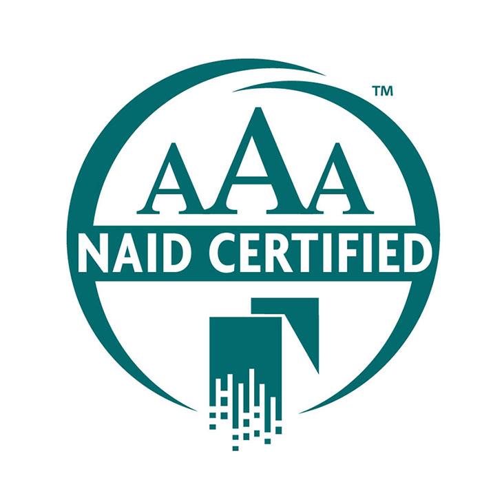 NAID AAA Certified Logo